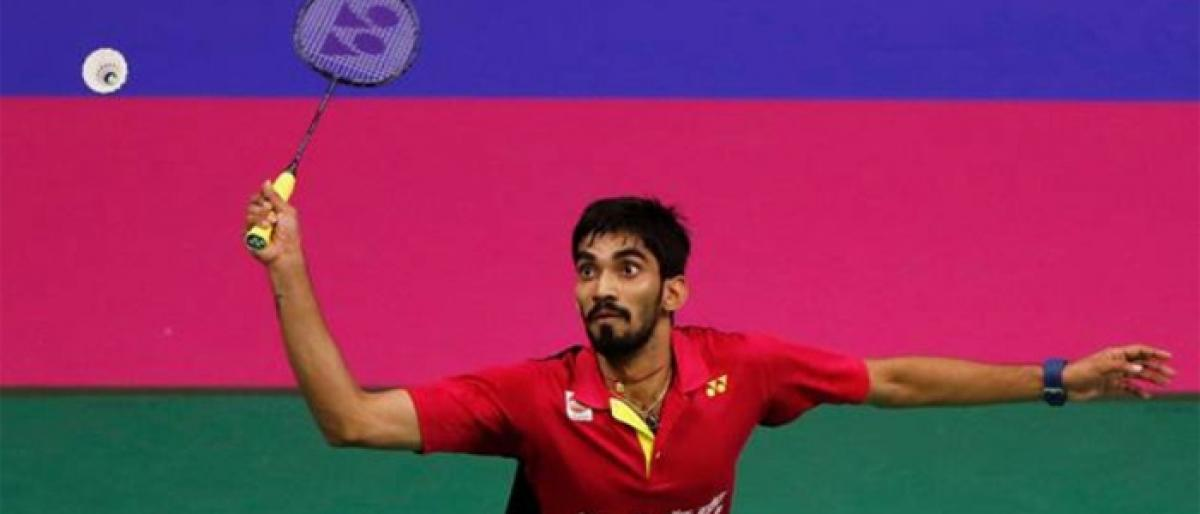 Shuttler Srikanth in Hong Kong Open quarters