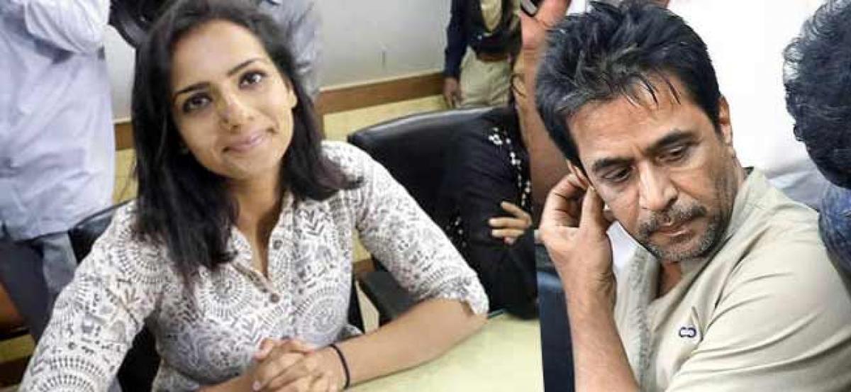 Actress Sruthi Hariharan makes a statement under section 164 CrPC