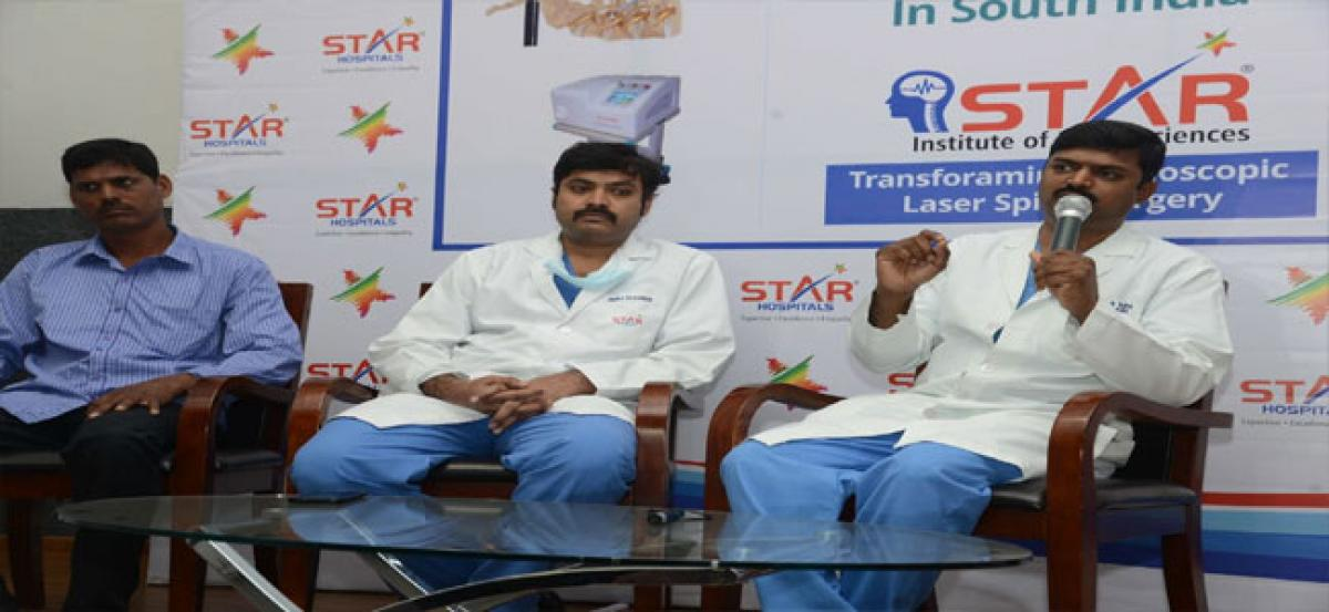 150 spine surgeries completed