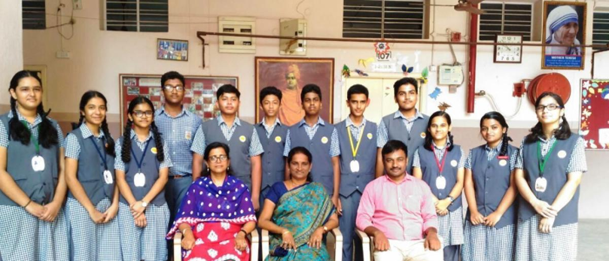 VRS students qualified for Asian-level Space Settlement