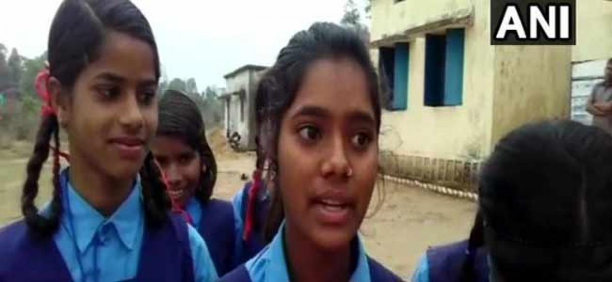 Chhattisgarh: Students forced to skip school due to heavy rainfall