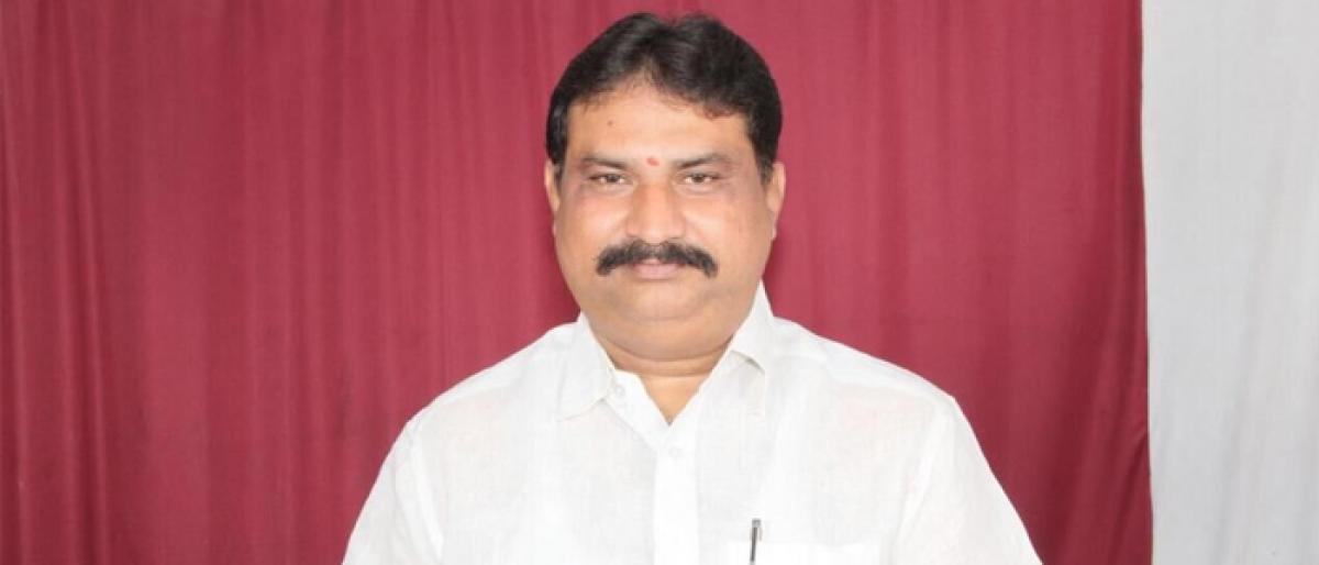 Subbarao appointed Zilla Grandhalaya Samstha chief
