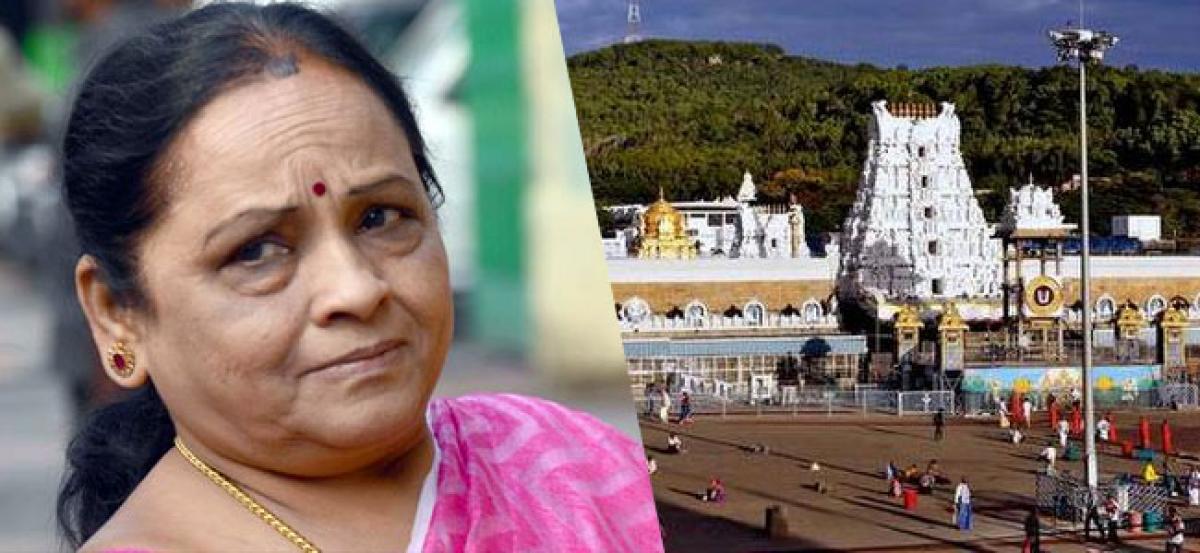 TDP MLA Insulted In Tirumala