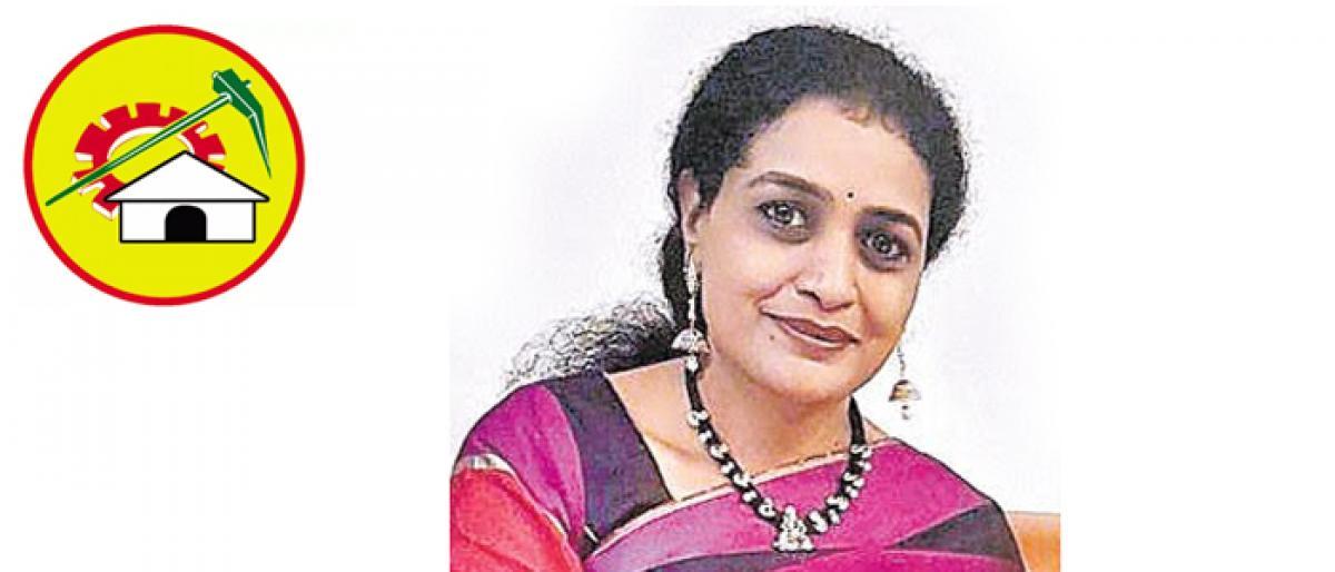 Suhasini will be TDP candidate from Kukatpalli