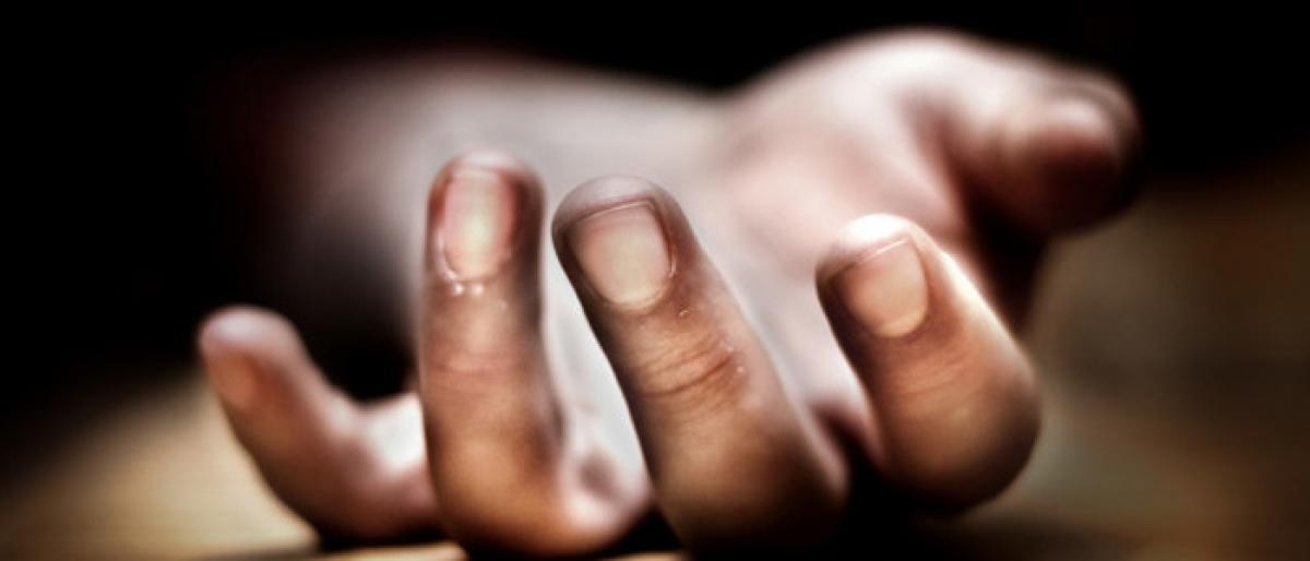 Distressed by debt burden, farmer commits suicide