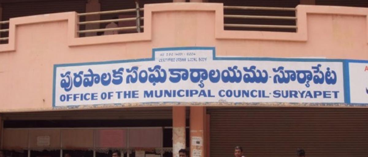 Suryapet gets 85 cr under special development fund