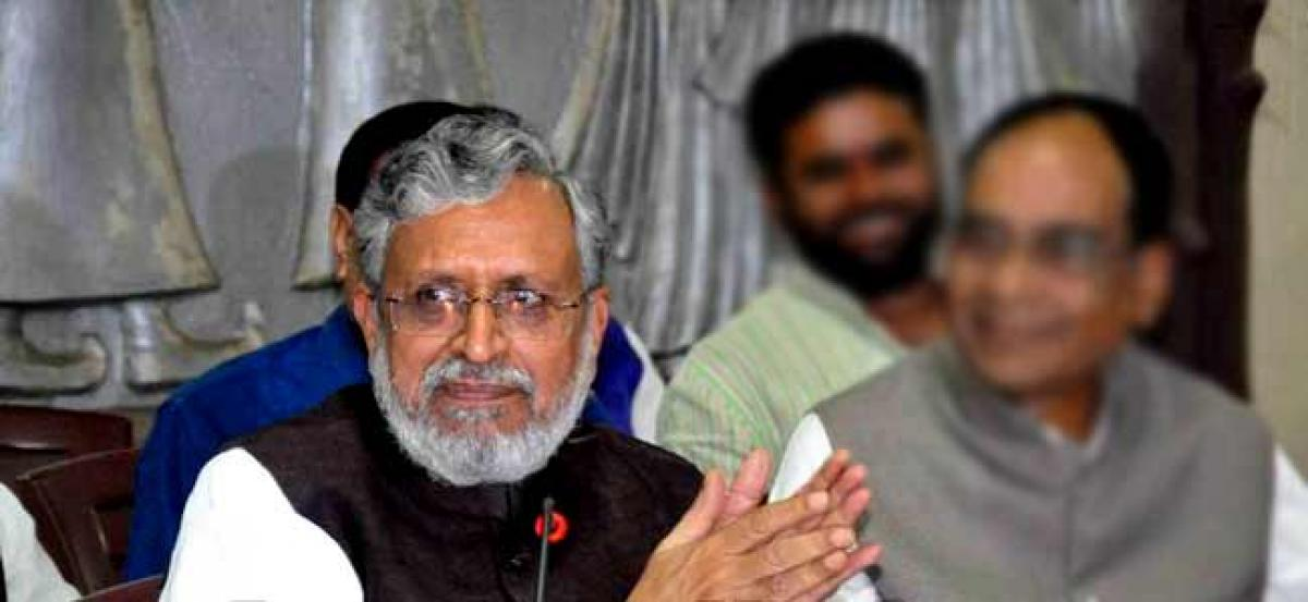 Will be taught a lesson: Sushil Modi on Tej Prataps skinning threat to PM