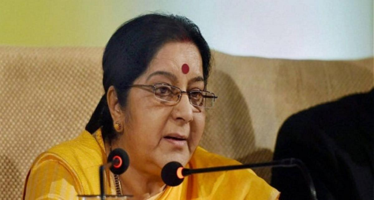 India expects non-discriminatory approach from US on H1B visa: Swaraj