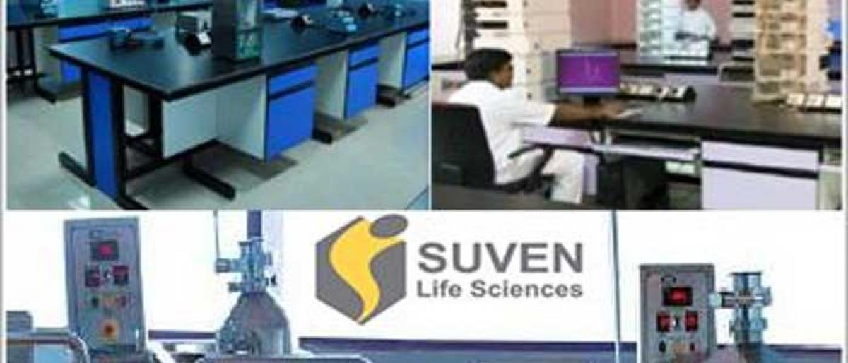 Suven gets patents from Aripo, South Korea