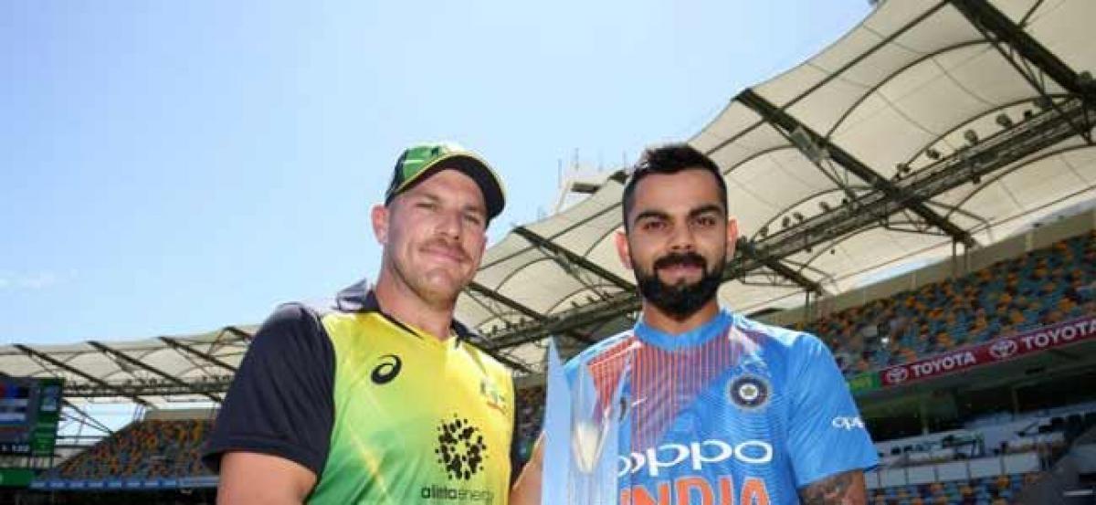 India vs Australia 1st T20I: Rain obstructs play in Brisbane
