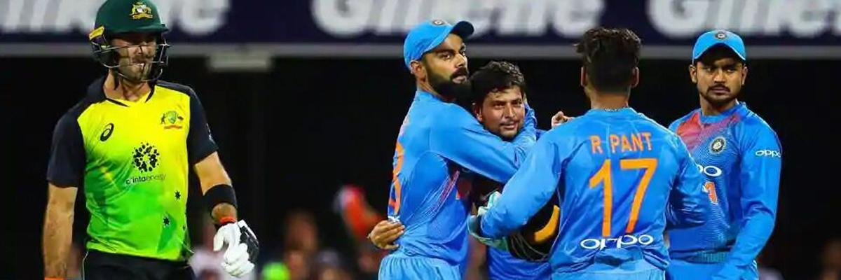 2nd T20 between India, Australia abandoned due to rain