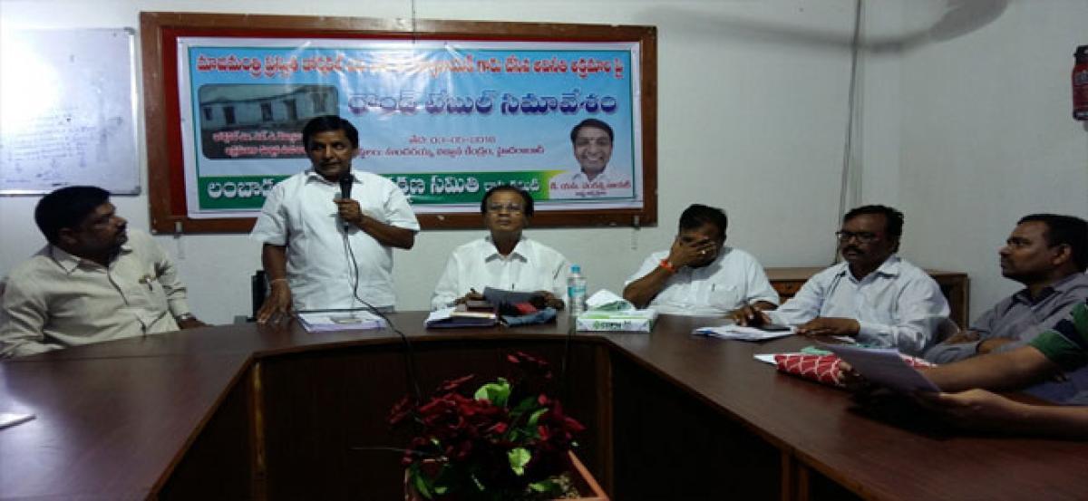 Action sought against Dornakal MLA