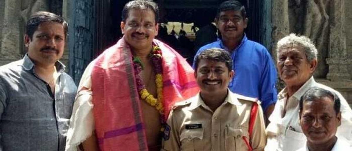 TANA chief visits Bhadradri