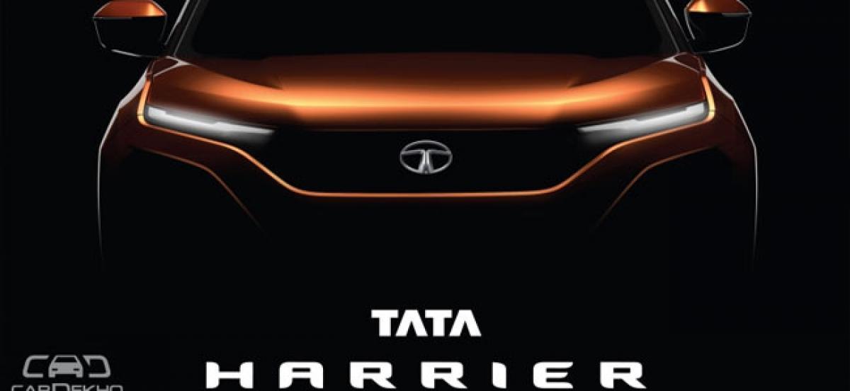 Official: H5X Concept To Launch As Tata Harrier; Will Rival Hyundai Creta, Jeep Compass