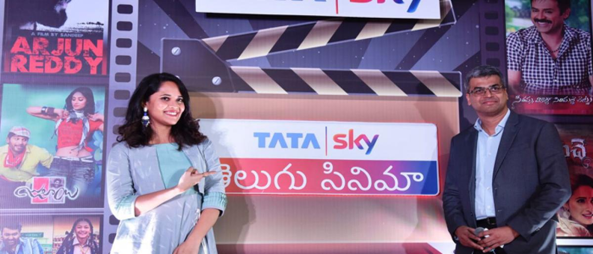 Tata Sky launches channel for Telugu cinema