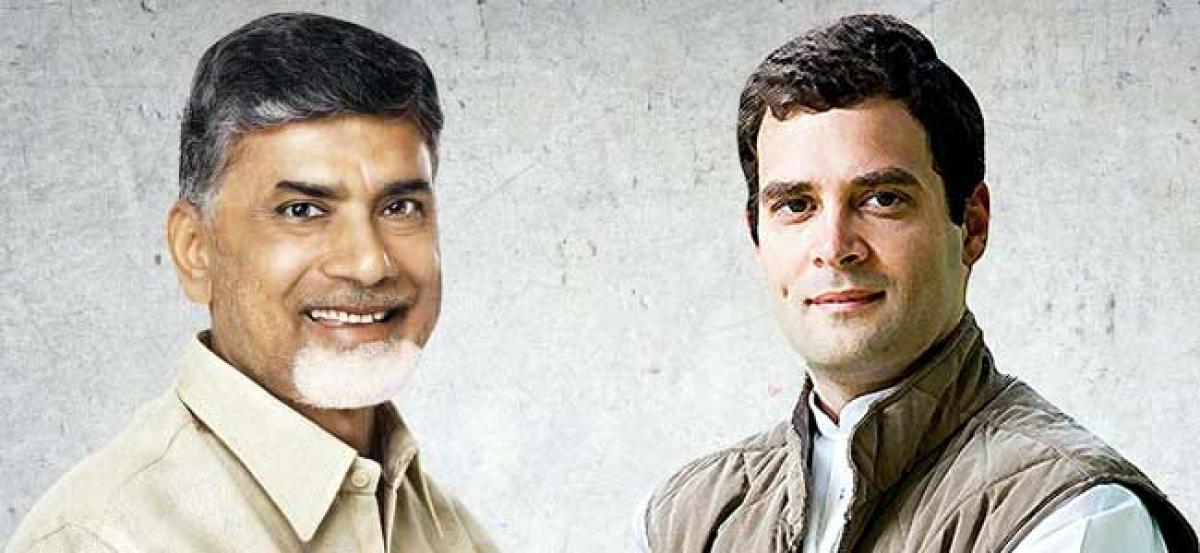Andhra Pradesh CM Chandrababu Naidu to meet Rahul Gandhi on Thursday: TDP sources