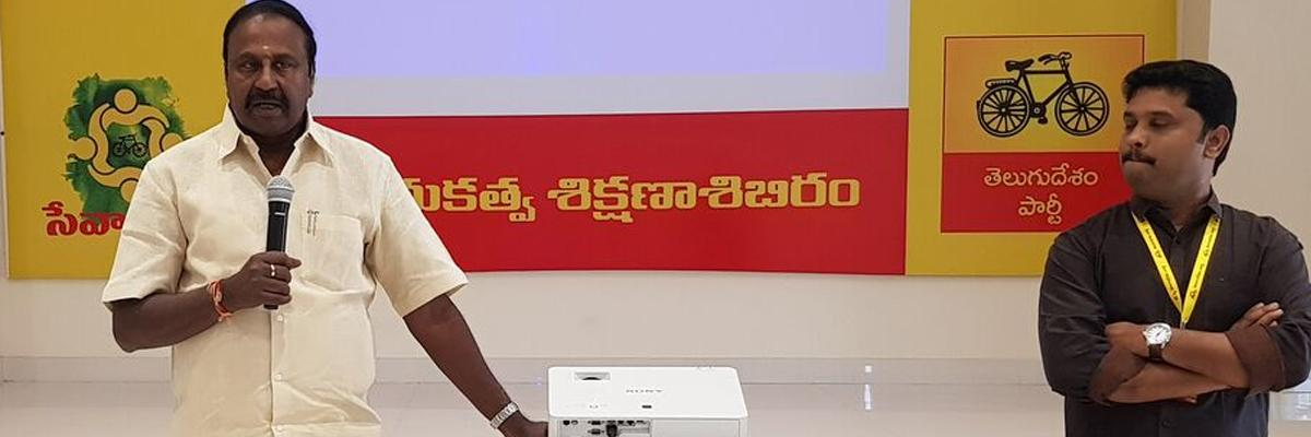 Want of cadre reason for T defeat: TDP
