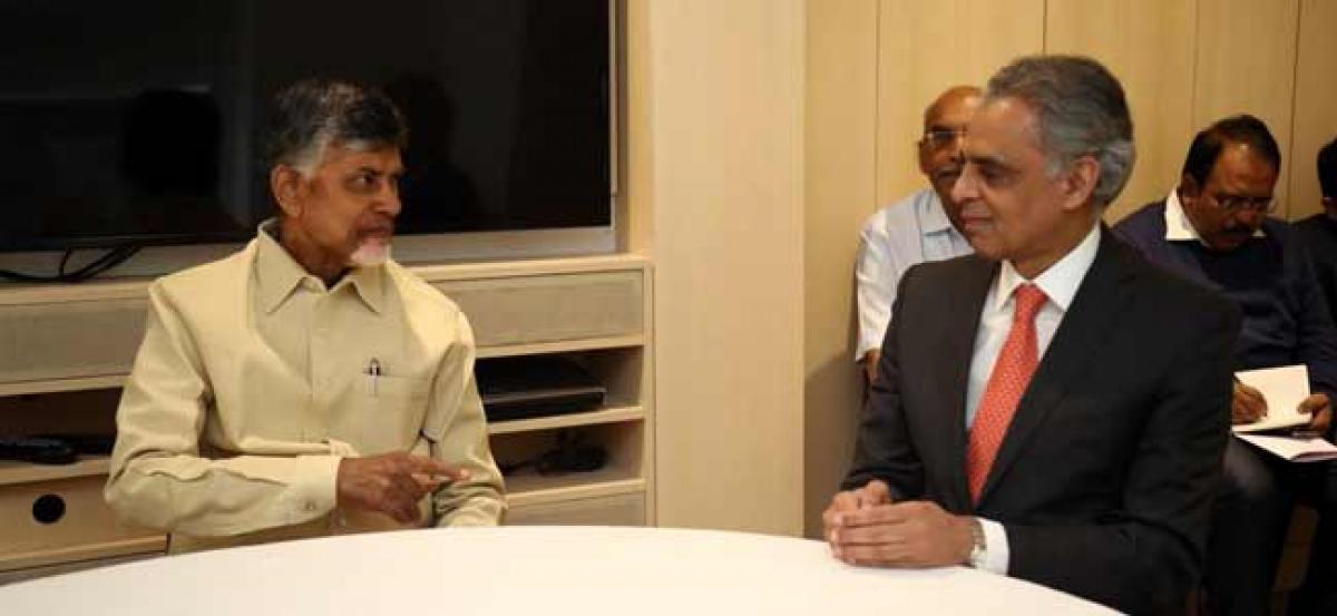 TDP will establish party NRI wing soon: Naidu