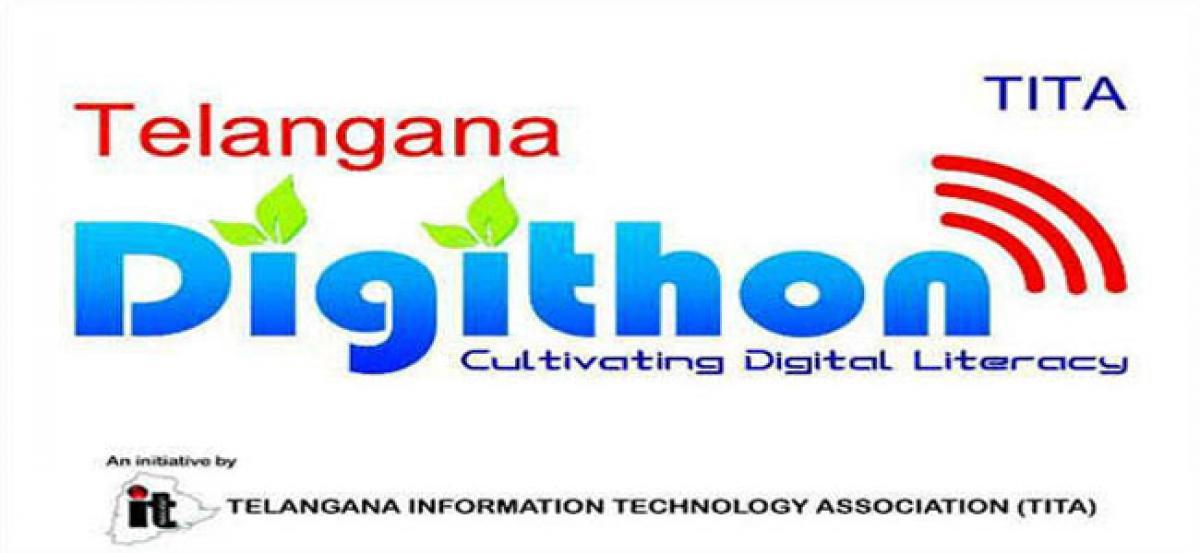 Redlakunta village turns 100% Digital Literate