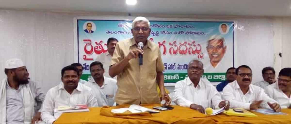 Everyone must support farmers: TJAC