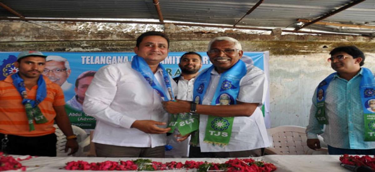 BJP minority leader Abbasi joins TJS