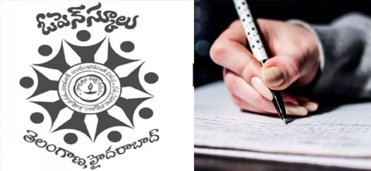 Telangana open SSC, Inter exams from Oct 24