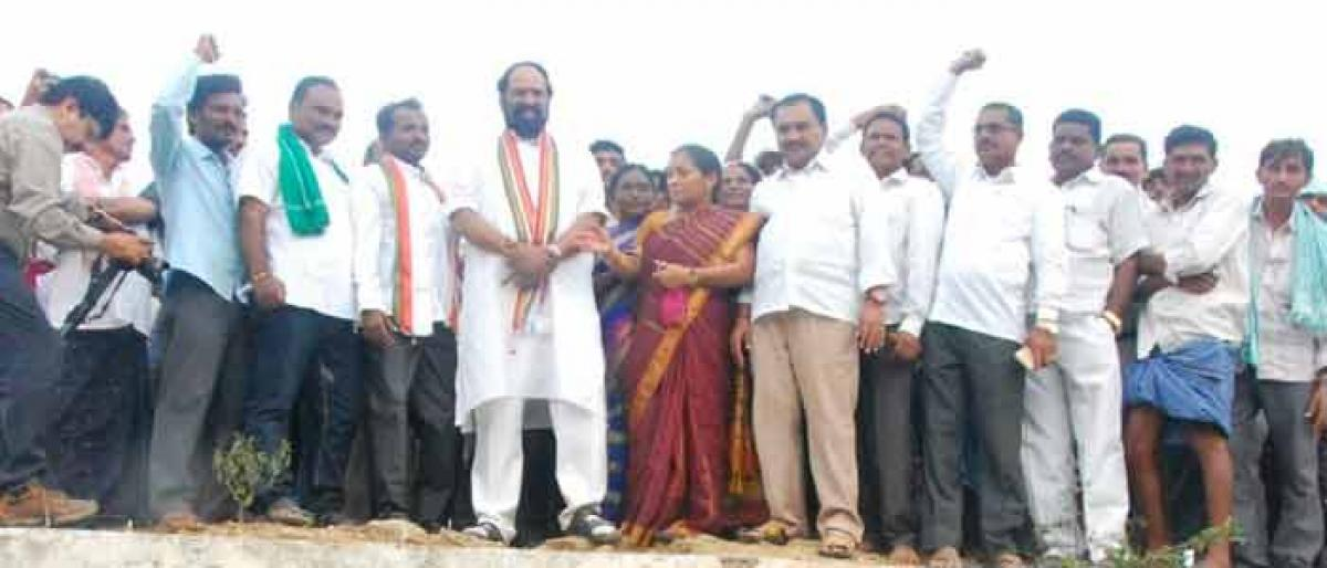 Uttam seeks 24X7 power supply for irrigation projects