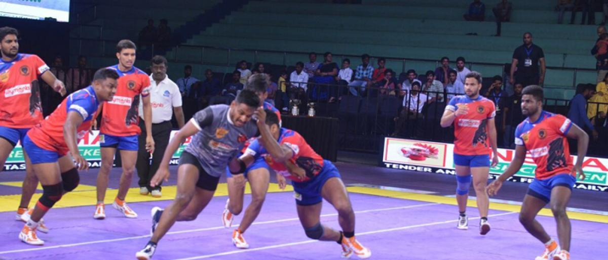 TPKL semifinalists spotted; Ranga Reddy Raiders dethroned