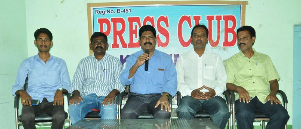 Padayatra to raise awareness on govt schools in Khammam district