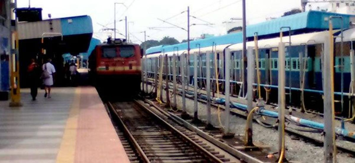 Trains partially cancelled, rescheduled