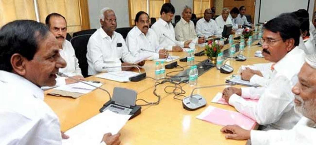 TRS cabinet meeting before Pragati Nivedana Sabha on early polls on Sept 2