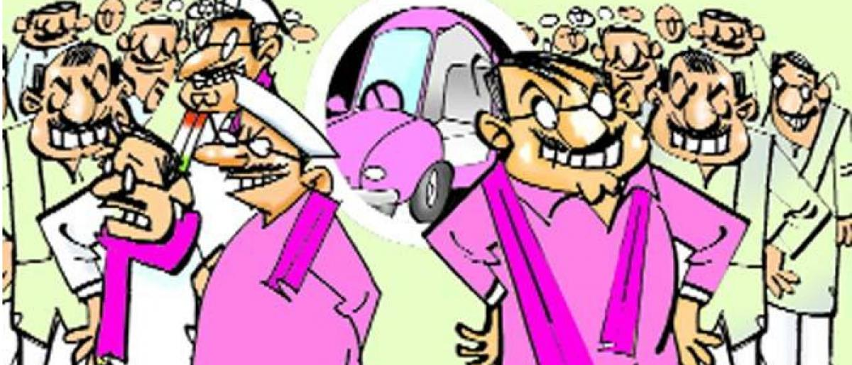 Upset Loyalists Pose Threat : Rebel trouble looms large in TRS