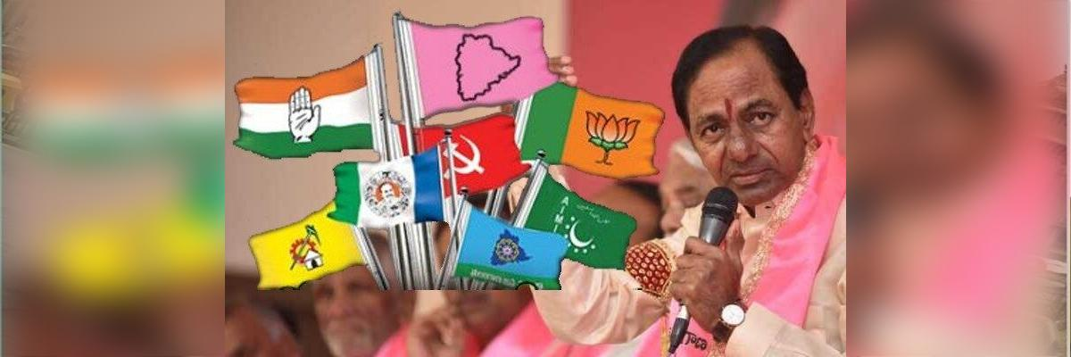 How close to truth exit polls are, which indicated that KCR will romp home?