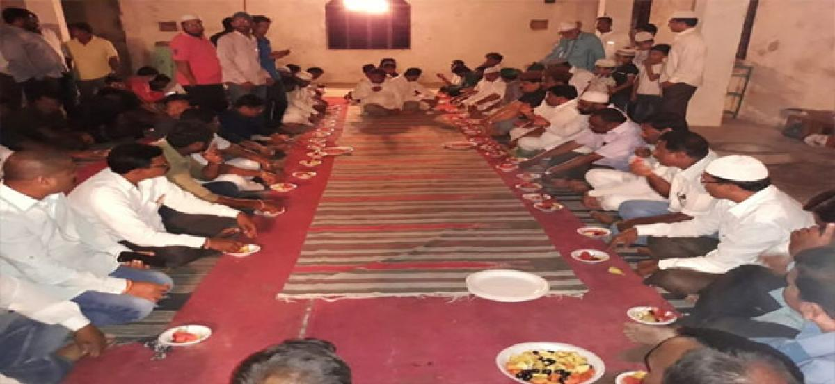 TRS leaders organise Iftar party