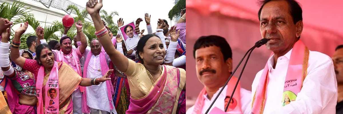 TRS polls 46.9% votes in Telangana