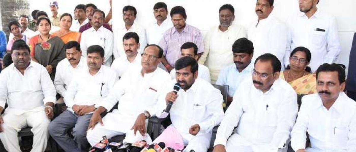 TRS slams Opposition for making hue and cry over new Collectorates