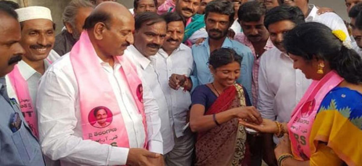 TRS MLA promise voters Rs 5 lakh if voted to power