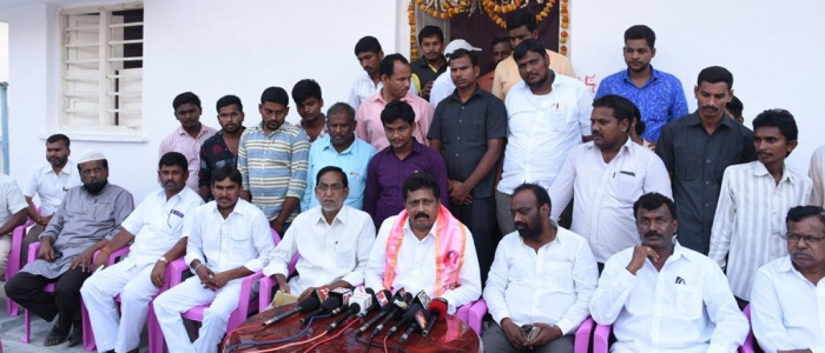 TRS will play key role in national politics: MP Lingaiah Yadav