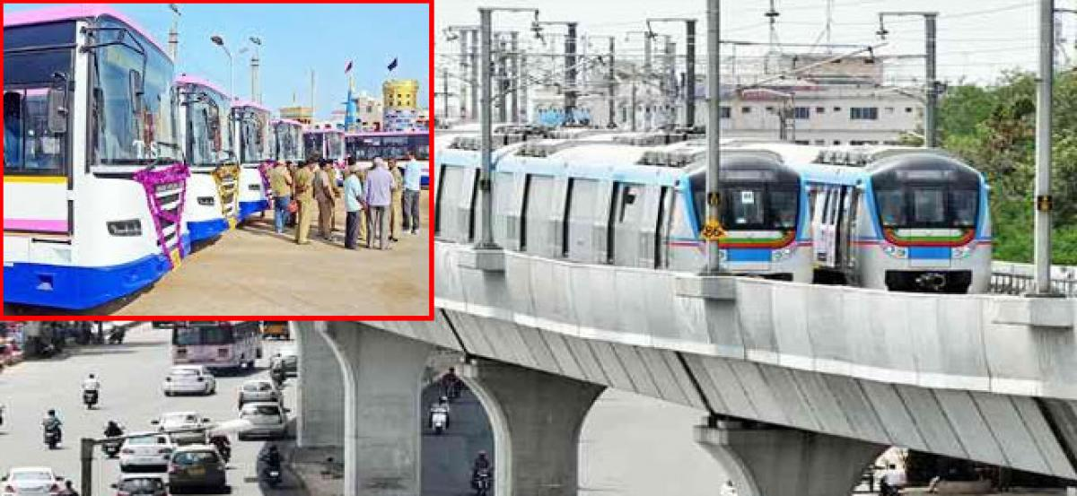 Transport strike hits Hyderabad: Metro comes to the rescue of public