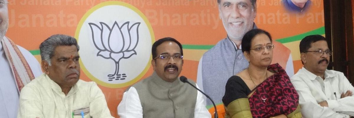 Congress, TRS, Majlis are birds of same feather: BJP