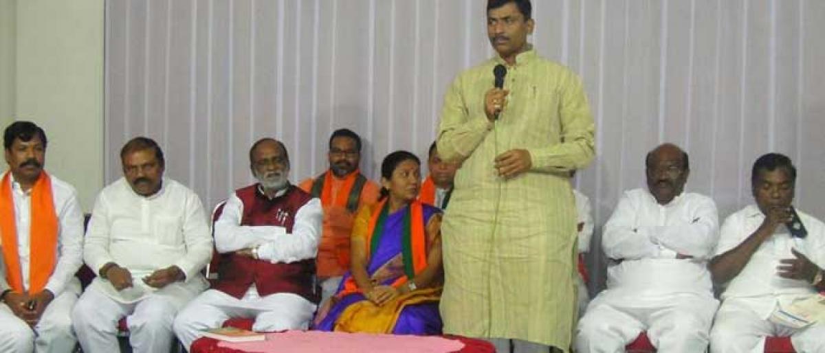 BJP to offer voluntary services at Medaram jatara