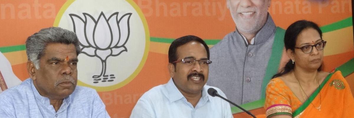 Focus on Telangana instead of eyeing Delhi: BJP to KCR