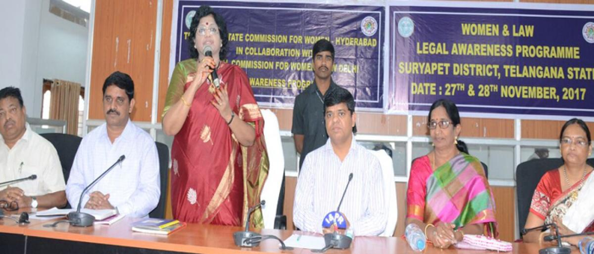 Time to stop discrimination against women: Tripurana