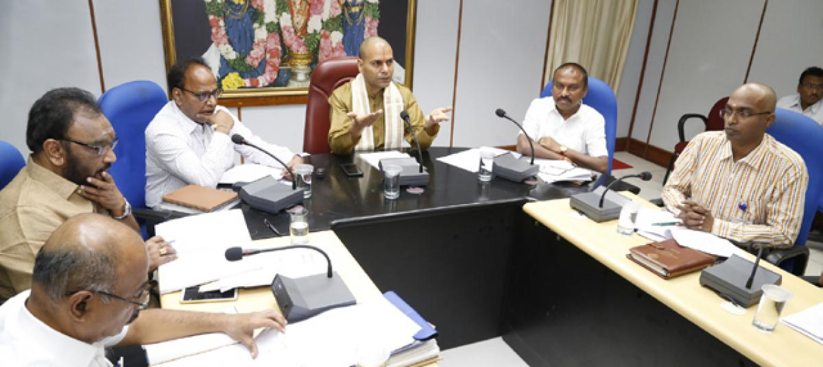Focus on sanitation during Brahmotsavams