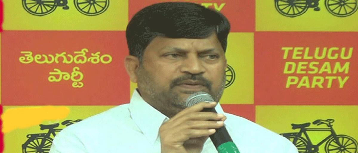 TDP red-faced over KCR's outburst against Naidu