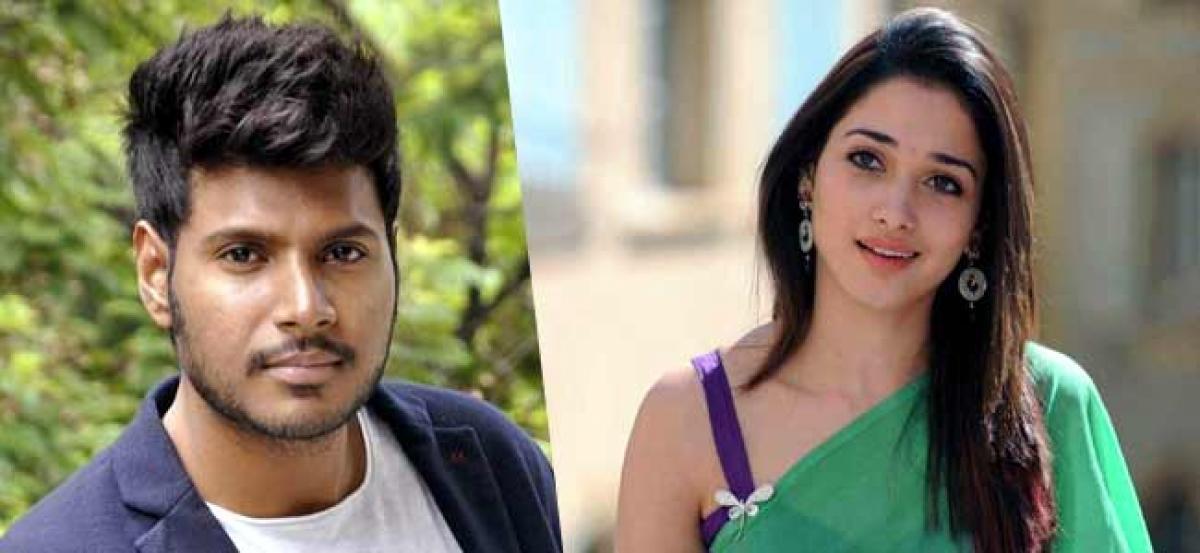 Tamannaah, Sundeep Kishan starrer titled Next Enti!