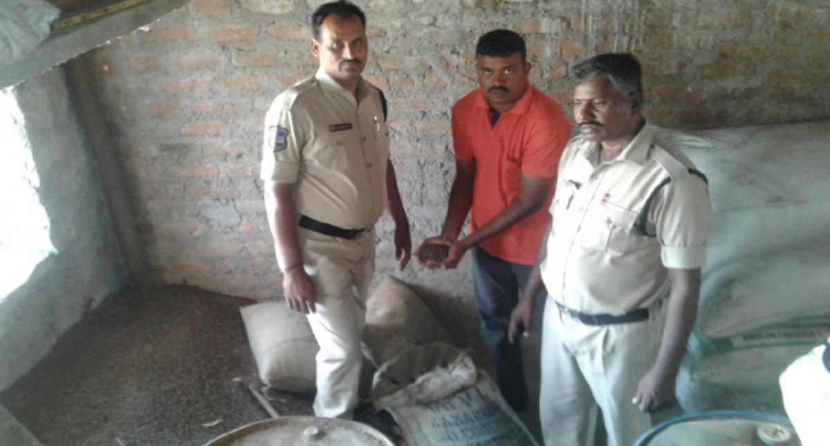 Task Force police seize 10 quintals of cotton seed
