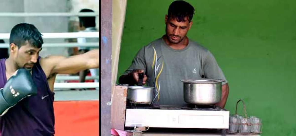 India's number 1 lightweight professional boxer is also a Tea seller
