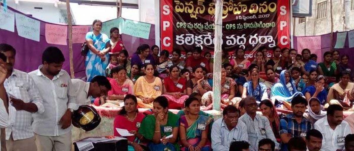 Teachers demand abolition of CPS