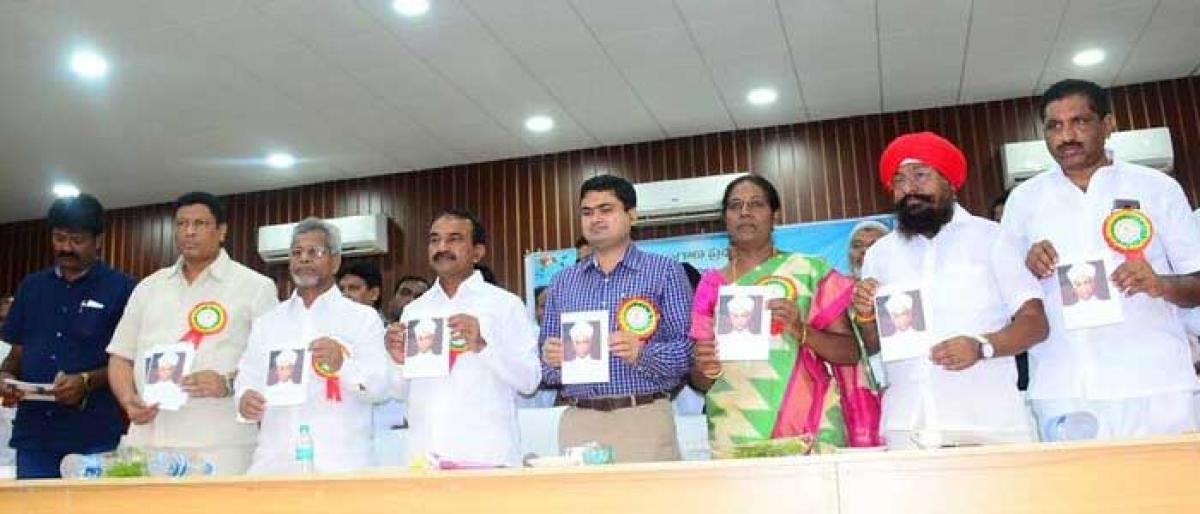 Teachers Day fete held on a grand note in Karimnagar